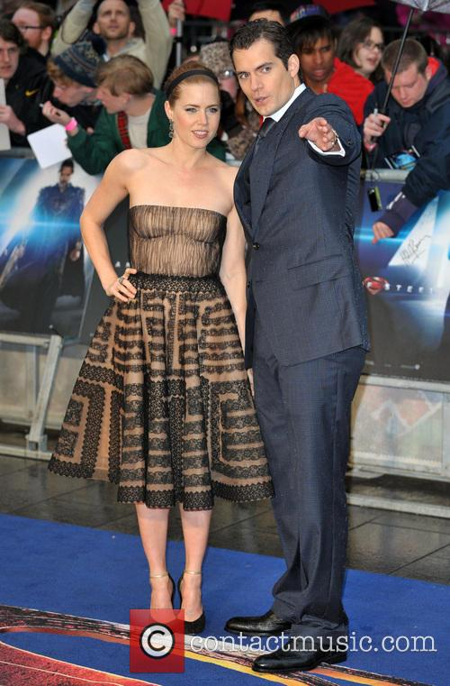 Henry Cavill and Amy Adams 2