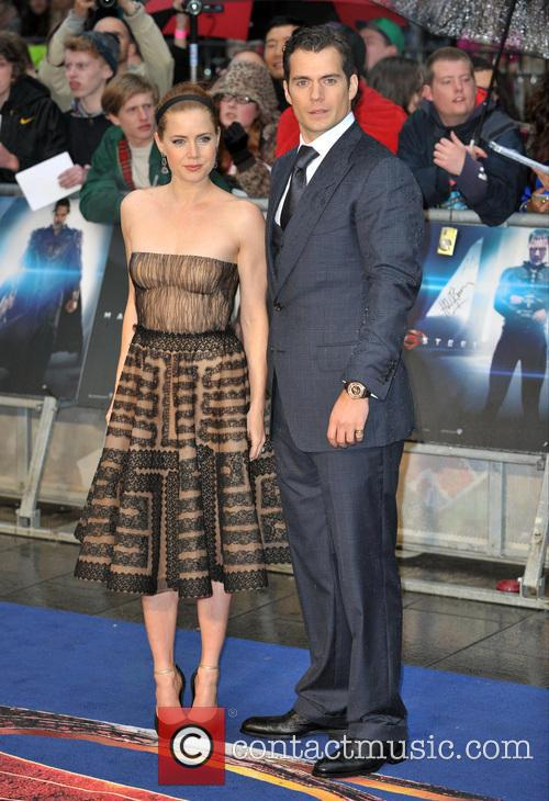 Henry Cavill and Amy Adams 3