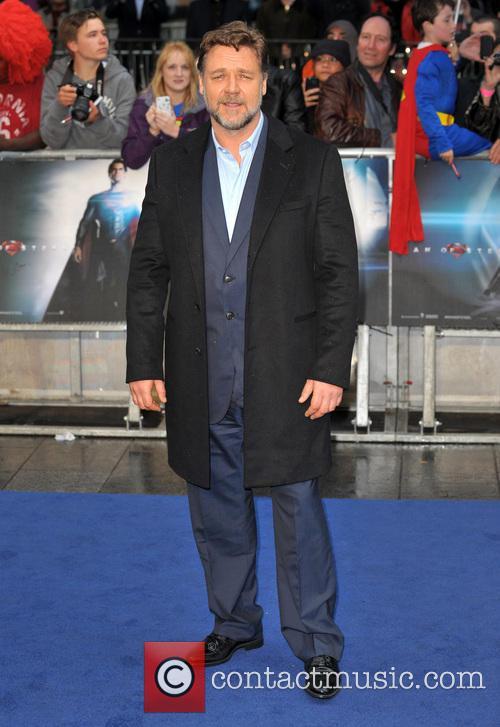 Russell Crowe Man of Steel