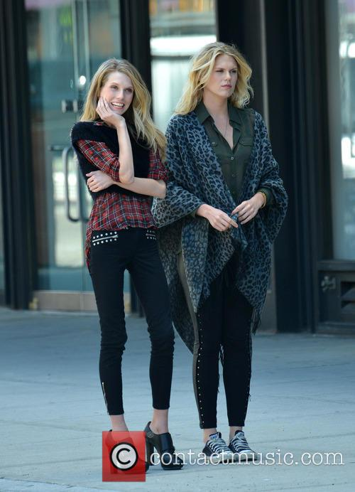 Theodora and Alexandra Richards photoshoot