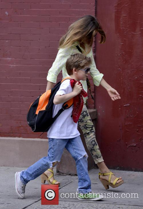 Sarah Jessica Parker, James Broderick, West Village