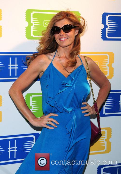 connie britton 3rd annual summer party on 3715439