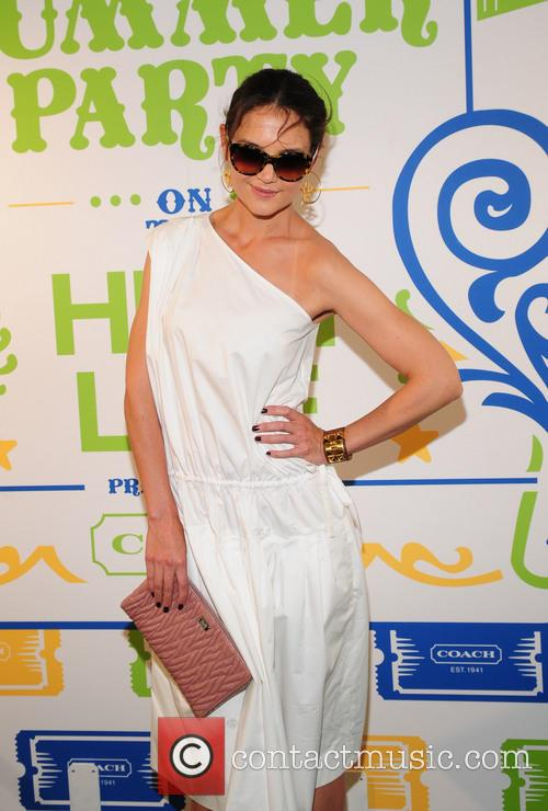 katie holmes 3rd annual summer party on 3715448