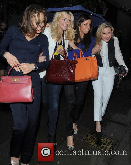 Tara Palmer Tomkinson , Holly Willoughby and Heidi...