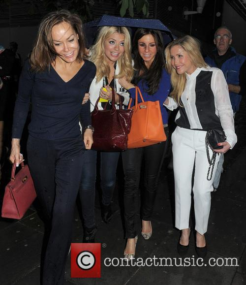 Tara Palmer Tomkinson , Holly Willoughby and Heidi...