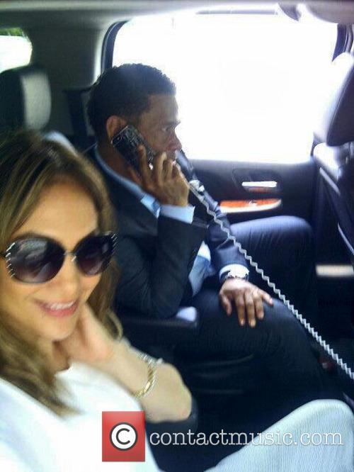 Jennifer Lopez and Benny Medina
