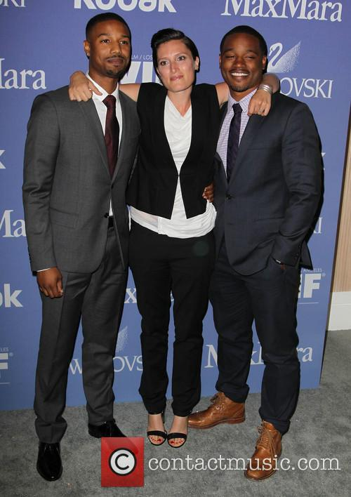 Michael B. Jordan, Rachel Morrison and Ryan Coogler 2