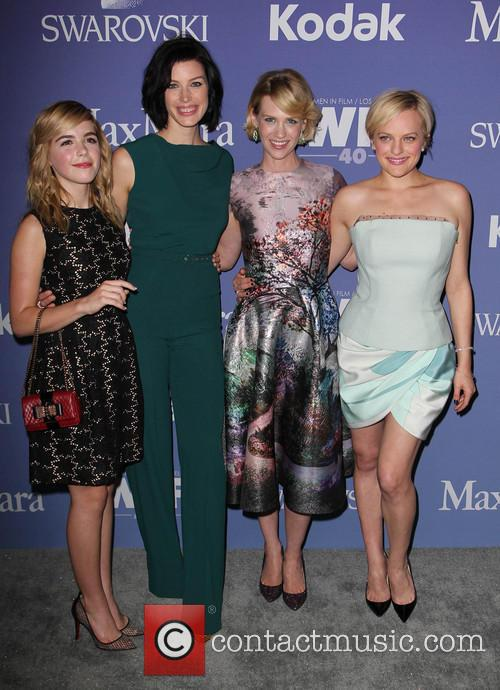 Kiernan Shipka, Jessica Paré, January Jones and Elisabeth Moss 1