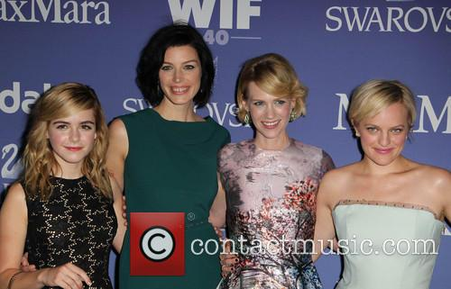 Kiernan Shipka, Jessica Paré, January Jones and Elisabeth Moss 2