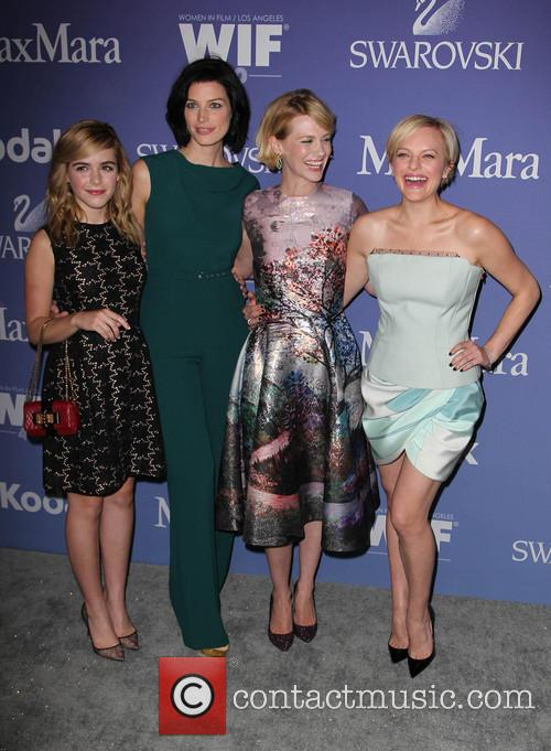 Kiernan Shipka, Jessica Paré, January Jones and Elisabeth Moss 3