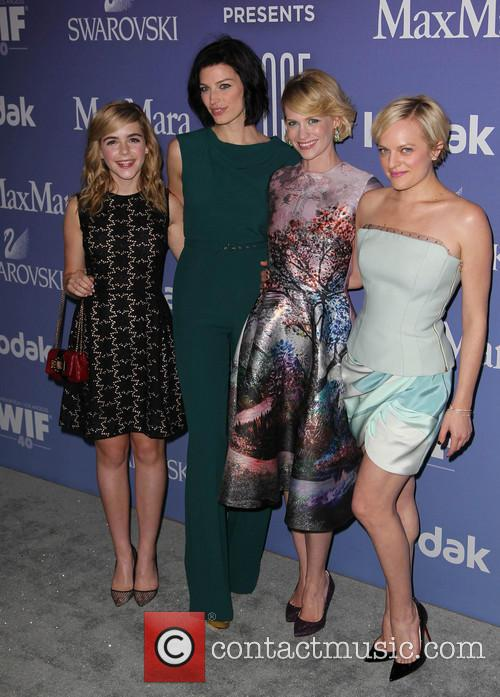 Kiernan Shipka, Jessica Paré, January Jones and Elisabeth Moss 5