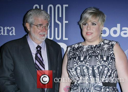 George Lucas and Katie Lucas 2