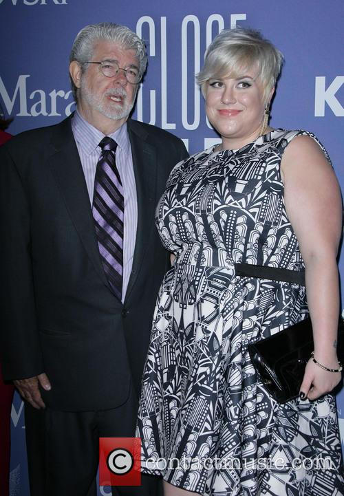 George Lucas and Katie Lucas 3