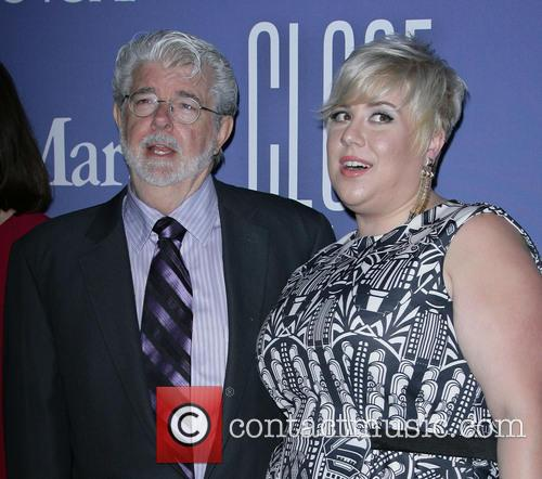 George Lucas and Katie Lucas 1