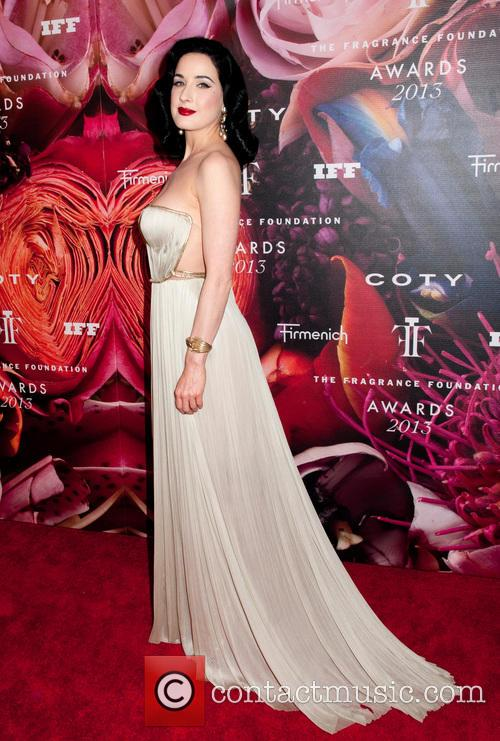 Dita Von Teese, Alice Tully Hall at Lincoln Center