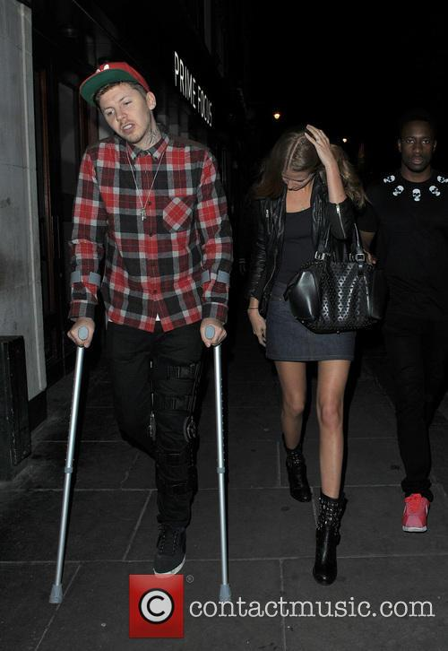 Millie Mackintosh and Professor Green 10