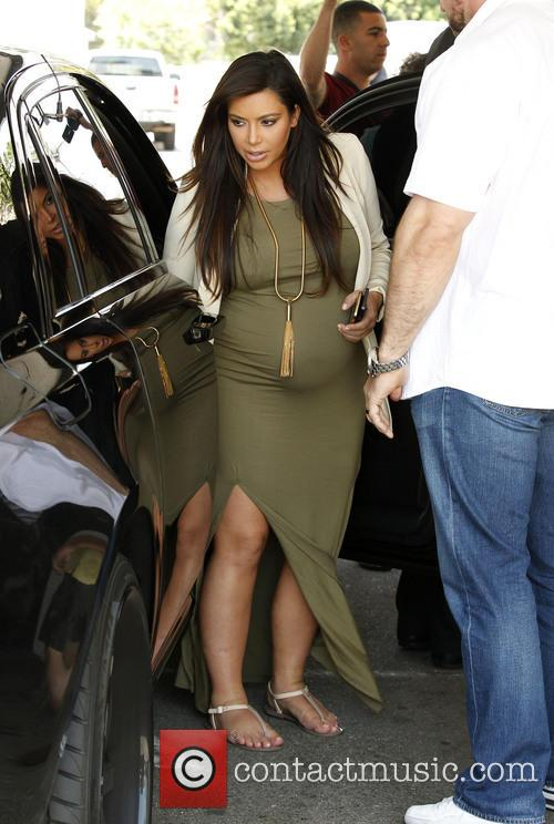 Kim Kardashian out and about