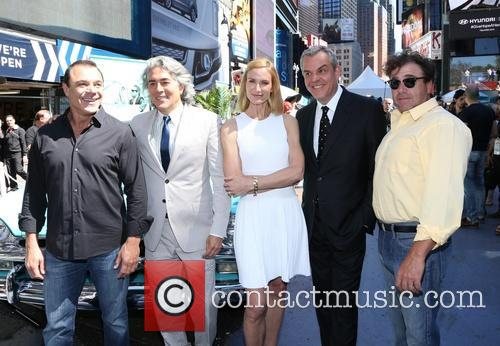 John Cenatiempo, Michael Rispoli, Mitch Glazer, Kelly Lynch and And Danny Huston 3