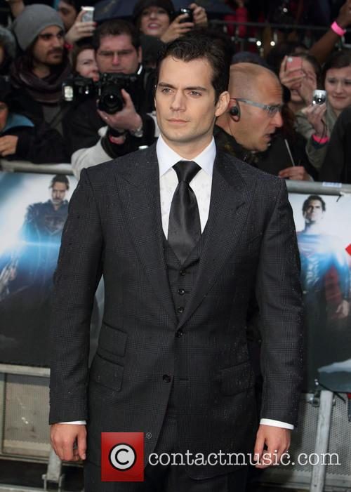 Henry Cavill, Man of Steel European Premiere