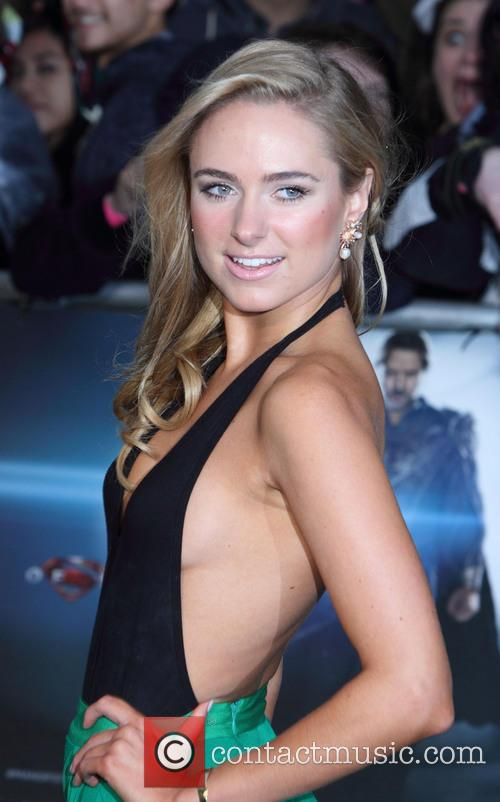 kimberley garner man of steel european premiere 3716783