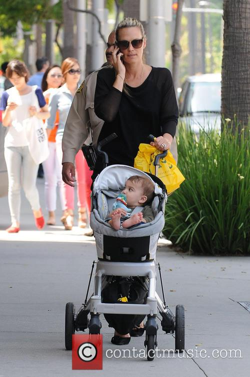 Molly Sims and Brooks Alan Stuber 1