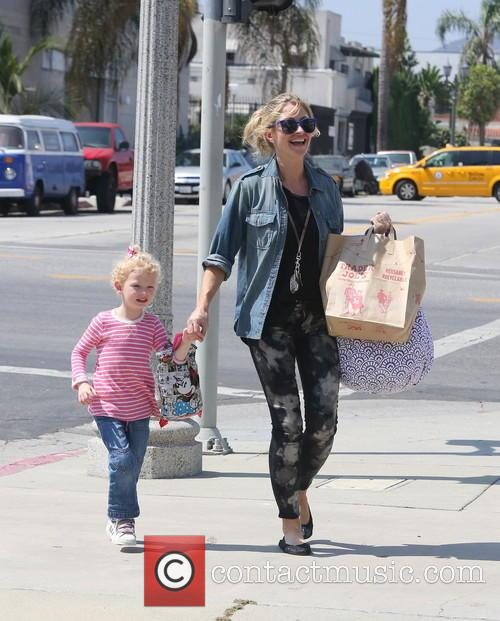 Rebecca Gayheart On The School Run