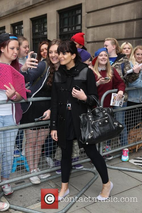 Celebrities outside Radio 2 studios