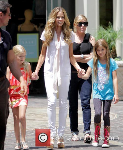 Denise Richards, Sam Sheen and Lola Rose Sheen 2