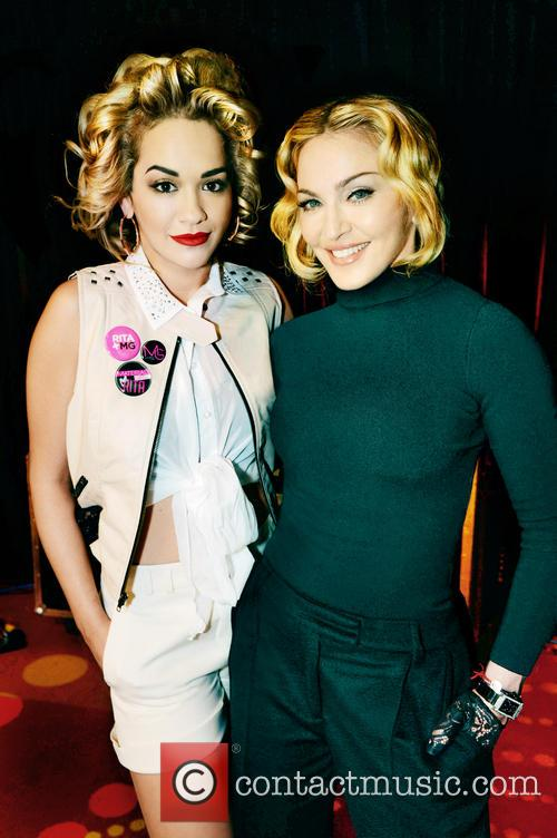 Rita Ora teams up with Madonna's Material Girl