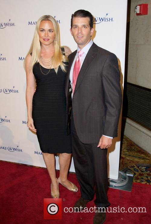 Vanessa Trump and Donald Trump Jr 2