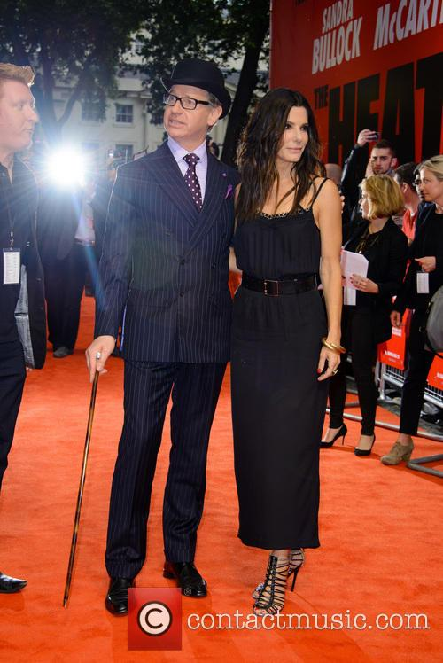 Paul Feig and Sandra Bullock 3