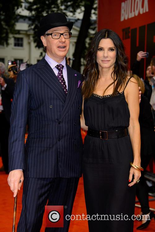 Paul Feig and Sandra Bullock 4