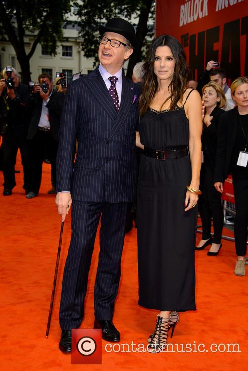 Paul Feig and Sandra Bullock 5