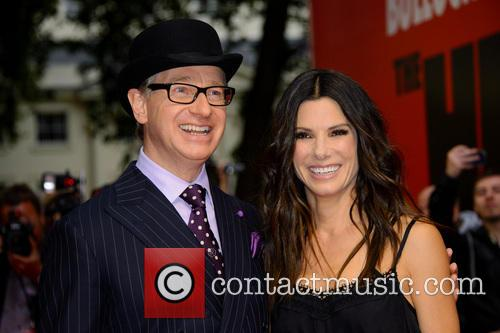 Paul Feig and Sandra Bullock 6