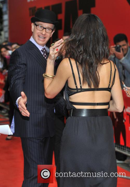 Director Paul Feig and Sandra Bullock 2
