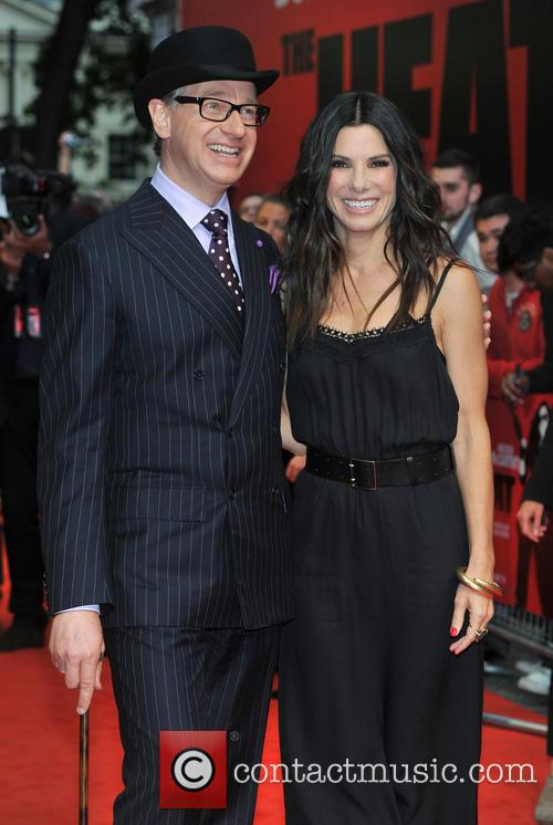 Director Paul Feig and Sandra Bullock 3
