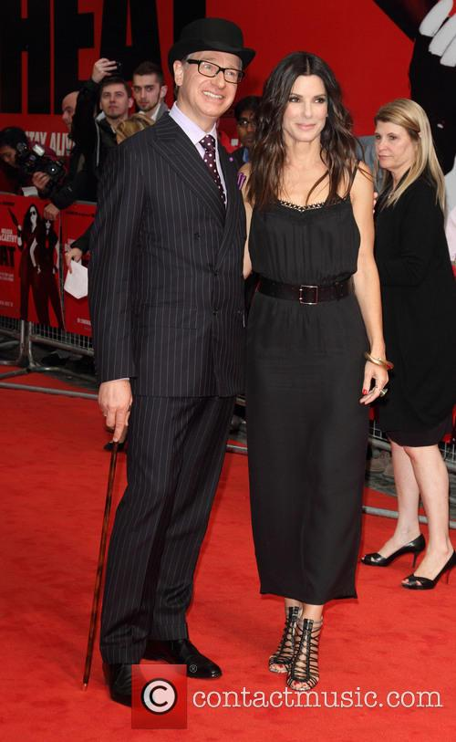 Paul Feig and Sandra Bullock 9