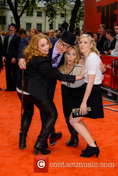 Jessica Chaffin, Paul Feig, Jamie Denbo and Katie Dippold 1