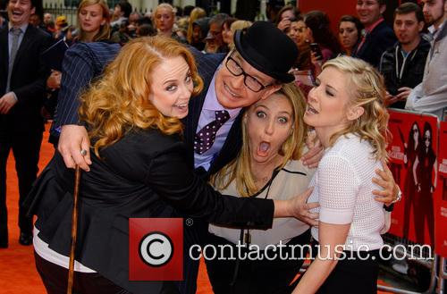 Jessica Chaffin, Paul Feig, Jamie Denbo and Katie Dippold 9