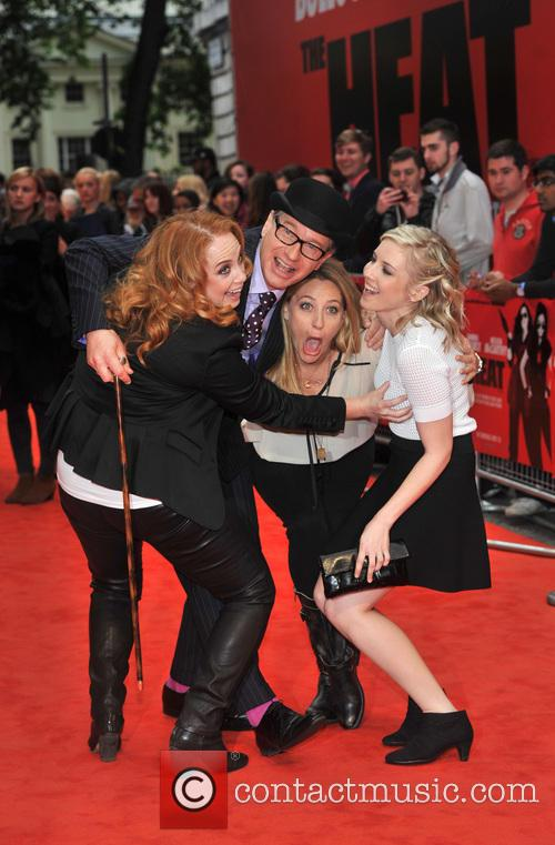 Jessica Chaffin, Paul Feig, Jamie Denbo and Katie Dippold 10