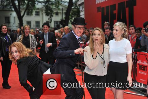 Jessica Chaffin, Paul Feig, Jamie Denbo and Katie Dippold 11