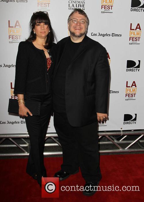 Guillermo del Toro, Lorenza Newton, Regal Cinemas L A Live, Los Angeles Film Festival
