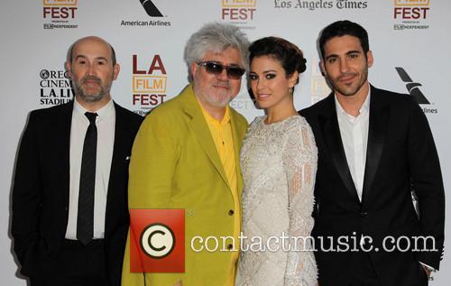 Javier Camara, Pedro Almodovar, Blanca Suarez and Miguel Angel Silvestre 6