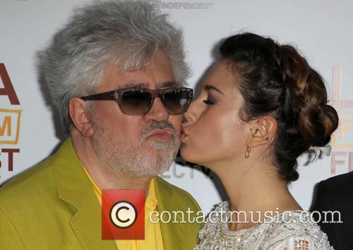 Pedro Almodovar and Blanca Suarez 3