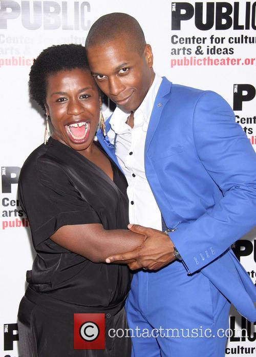 Uzo Aduba and Leslie Odom Jr. 5