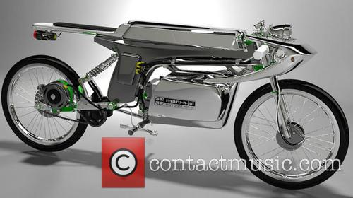 A  conceptual café-racer style electric bike designed...
