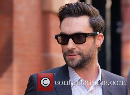 Adam Levine out and about in Soho
