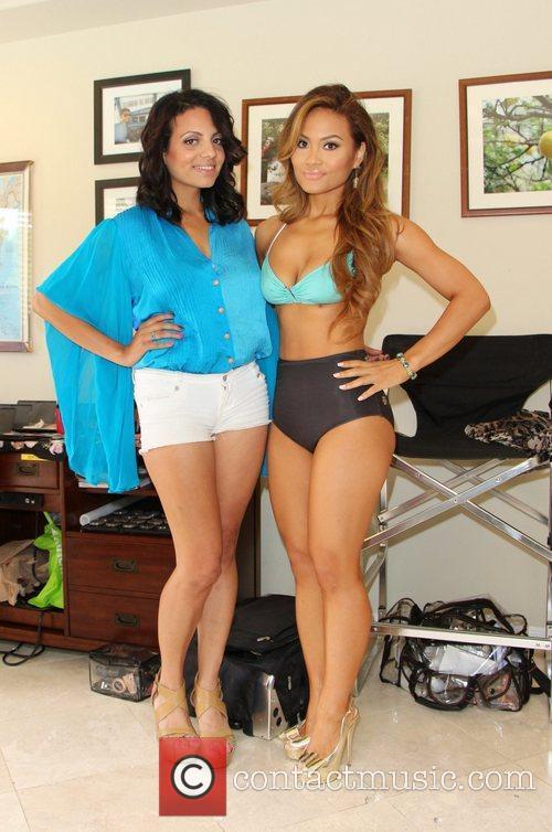 Daphne Joy and Ambika Sanjana 8
