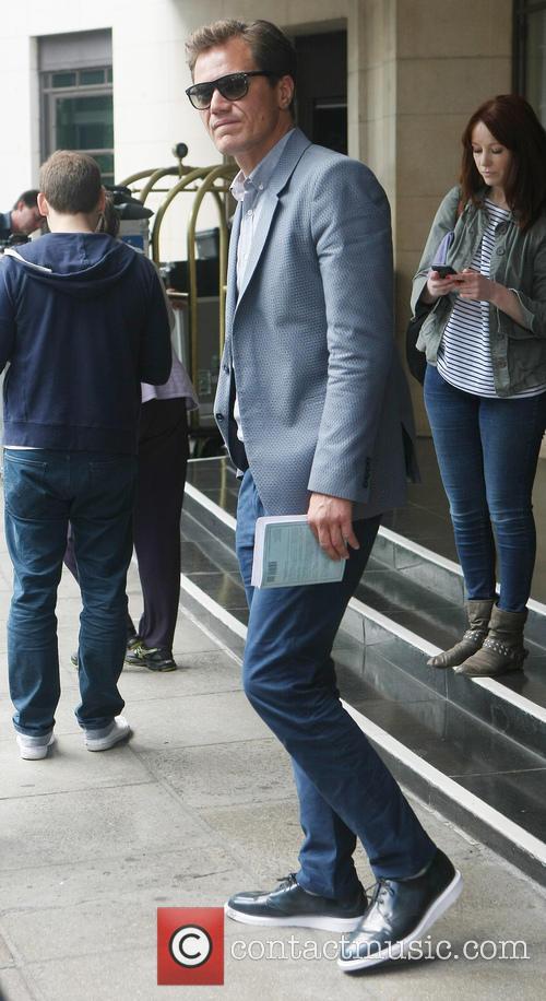 Celebrities leaving their hotel in London