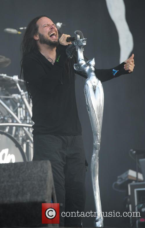 Jonathan Davis and Korn 10